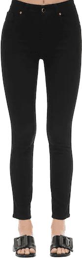 Black The Vanessa High-Rise Denim Jeans