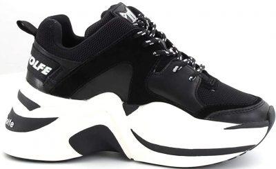 Black Track Sneaker-Naked Wolfe