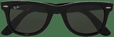 Black Wayfarer Square-Frame Acetate Sunglasses-Ray-Ban