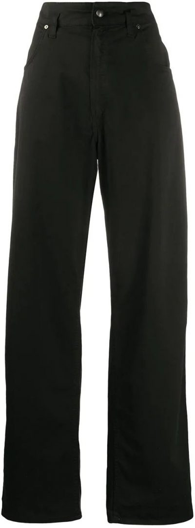 Black Wide-Leg Jeans-Etro