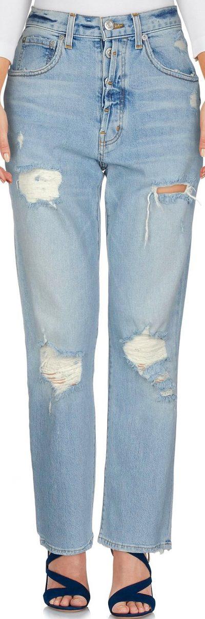 Blue Denim Pants-Adaptation