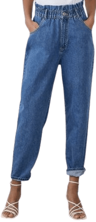 Blue Denim Papergag Jeans