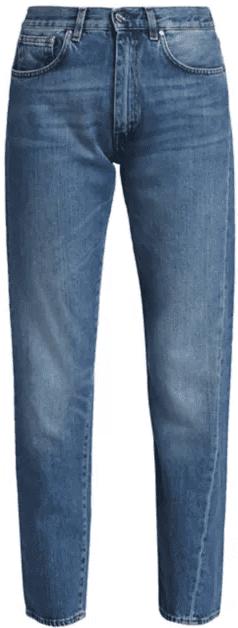 Blue Original Straight-Leg Jeans-Toteme