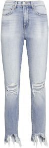 Braise High Line Distressed Skinny Jeans-L'Agence