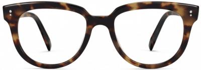 Brioche Tortoise Effie Glasses