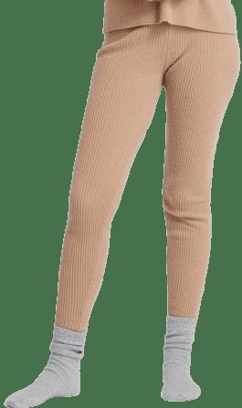 Camel Cashmere Lounge Pants