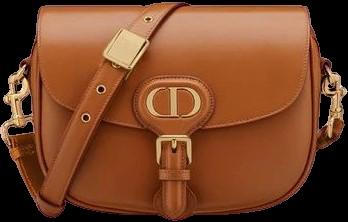 Camel Medium Bobby Bag-Dior