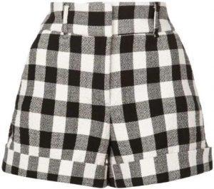 Check Shorts-Veronica Beard