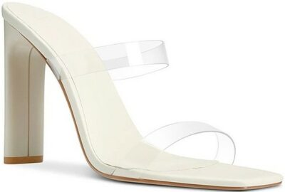 Cream Minimale Mule-Femme Shoes
