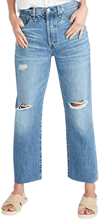 Fleetwood Tyler High Rise Ankle Straight Jeans-Ética