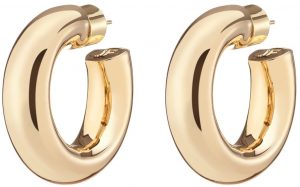 Gold Jamma Huggies Earrings-Jennifer Fisher