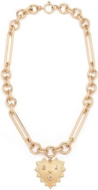 Gold Mixed Oversized Clip Chain Necklace-Foundrae