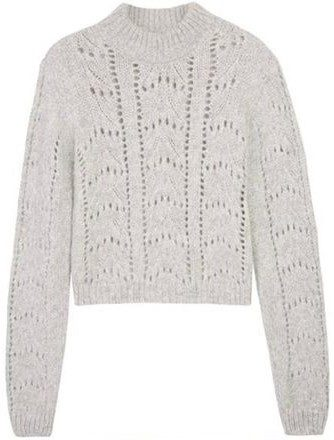 Gray Anabelle Sweater-The Odder Side