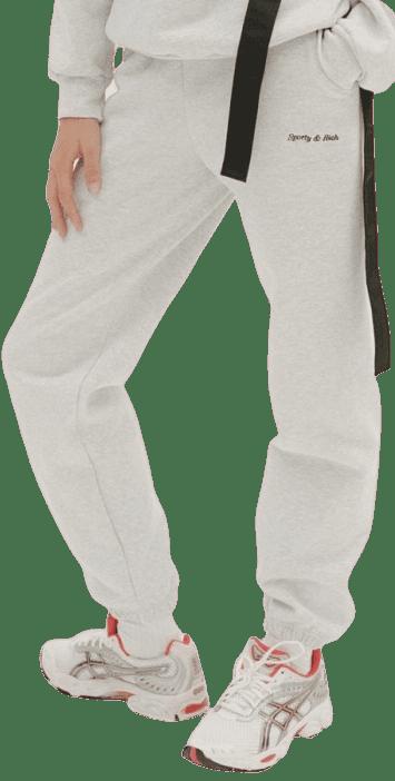 Grey Classic Logo Sweatpants