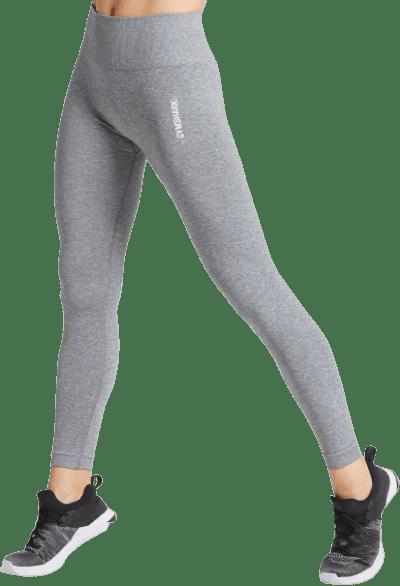 Grey Adapt Marl Seamless Leggings-Gymshark
