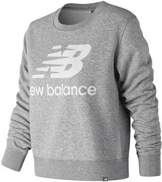 Grey Essentials Crew Sweatshirt-New Balance
