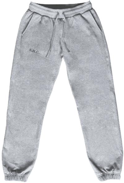 Grey Stay At Home Club Sweatpants-Hommebody
