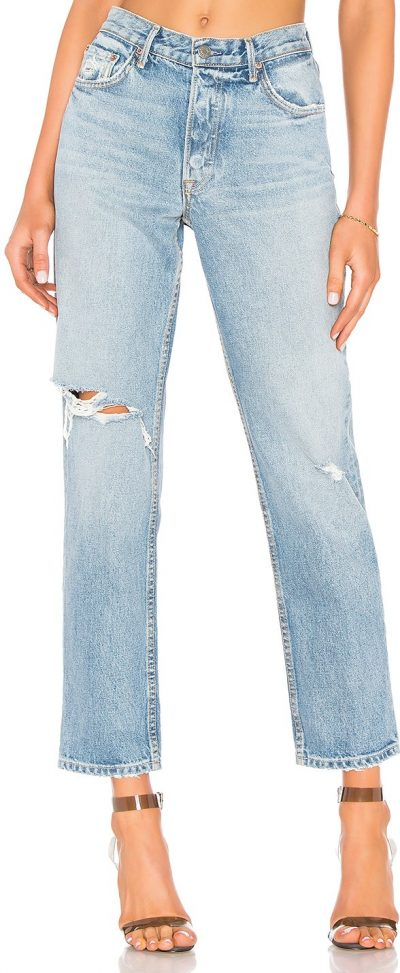 Last Resort Helena High-Rise Straight Jeans