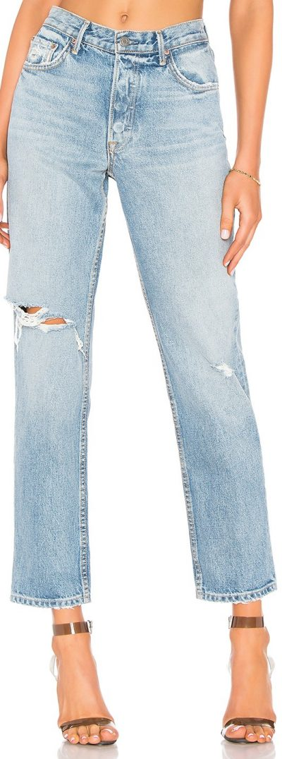 Last Resort Helena High-Rise Straight Jeans-GRLFRND