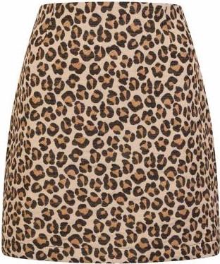 Leopard Print Scarlett Mini Skirt