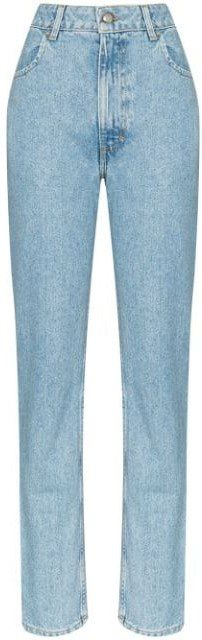 Light Blue Latta Faded High-Rise Jeans