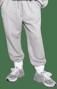 Light Grey Vanessa Sweatpants-The Frankie Shop