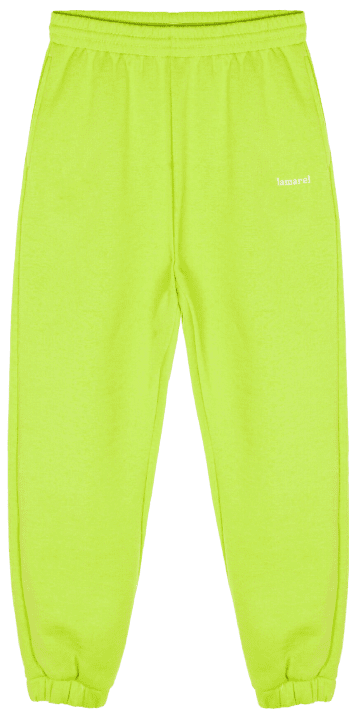 Lime Green Track Pants