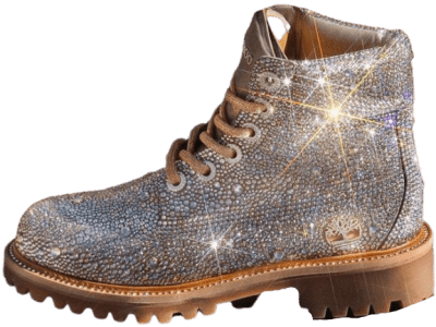 Limited Edition Crystal Boots