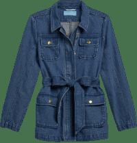 Medium Wash Denim Field Jacket-Draper James
