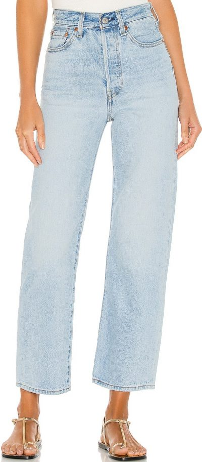 Middle Road Ribcage Straight Ankle Jeans-Levi's