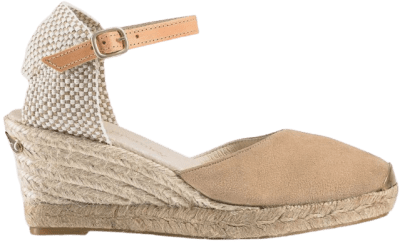 Nude Ankle Strap Coco-Nut Espadrilles