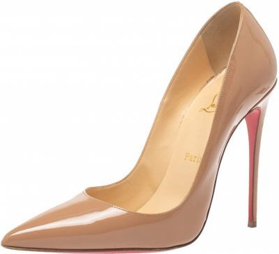 Nude Patent Leather So Kate Pumps-Christian Louboutin