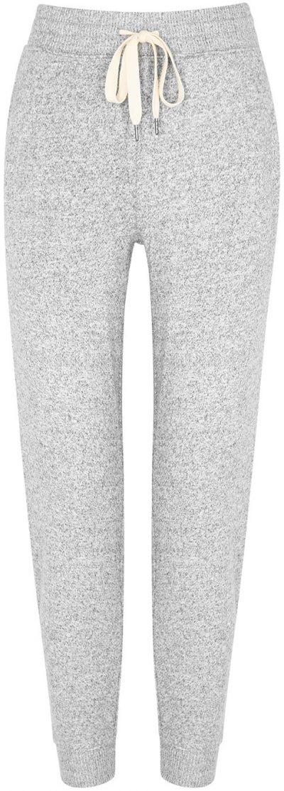 Oakland Grey Mélange Jersey Sweatpants-Rails