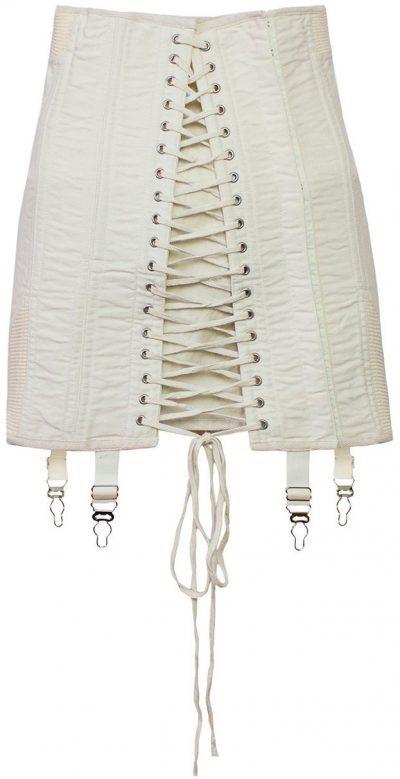 Off White Gamine Skirt-Orseund Iris