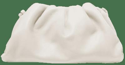 Off-White The Pouch Leather Clutch-Bottega Veneta