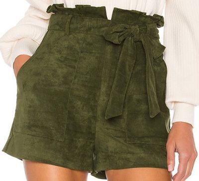 Olive Green Tia Short-Lovers + Friends