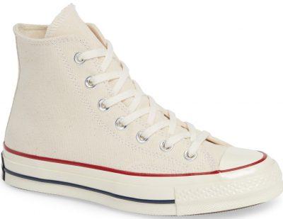 Parchment All Star Chuck 70 High Top Sneaker