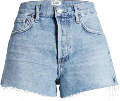 Parker Cutoff Denim Shorts-Agolde