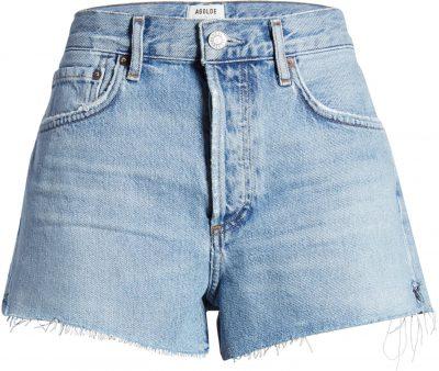 Parker Cutoff Denim Shorts-Agolde
