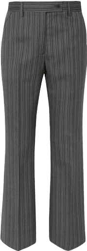 Patsyne Striped Wool-Blend Straight-Leg Pants