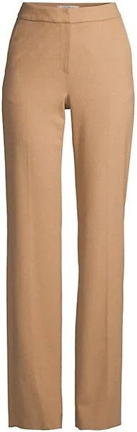 Pescia Camel Hair Full Pants-Max Mara