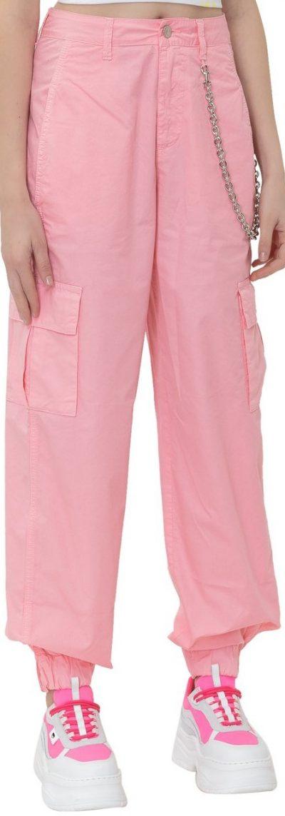 Pink Cargo Trousers-Chiara Ferragni
