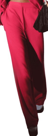 Pink Fall 2021 Collection Suit Trousers-Prabal Gurung