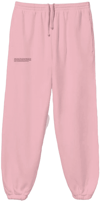 Pink Recycled Track Pants-Pangaia