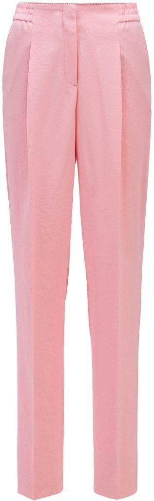 Pink Regular-Fit Wide Leg Pants-Hugo Boss