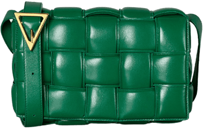 Racing Green Padded Cassette Bag-Bottega Veneta