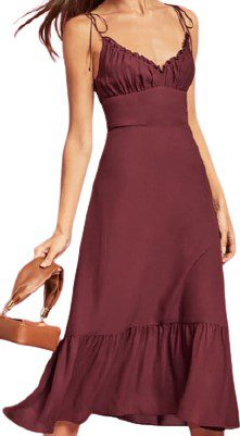 Red Embry Dress-Reformation