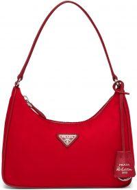 Red Re-Edition 2005 Nylon And Saffiano Leather Mini-Bag-Prada