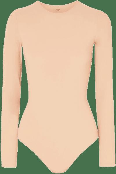 Sand Leroy Stretch-Jersey Thong Bodysuit-ALIX NYC
