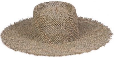 Sea Grass Sunnydip Fray Boater Hat